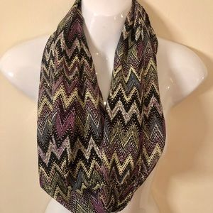 Accessories - Abstract Silky Scarf